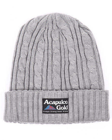 Acapulco Gold Men Kilimanjaro Beanie Grey