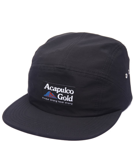 Acapulco Gold Men Kilimanjaro Camp Cap Black