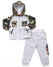 Boys - MILITARY HOODY & JOGGER SET (2T-4T)