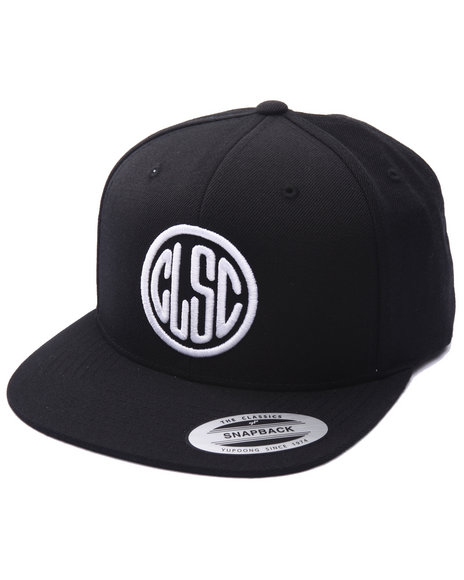 Clsc Men Stamp Snapback Cap Black