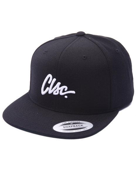 Clsc Men Script Snapback Cap Black - $26.99
