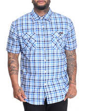 Men - Plaid S/S Button-Down (B&T)