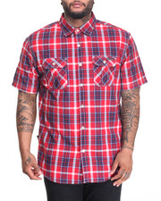 Shirts - Plaid S/S Button-Down (B&T)