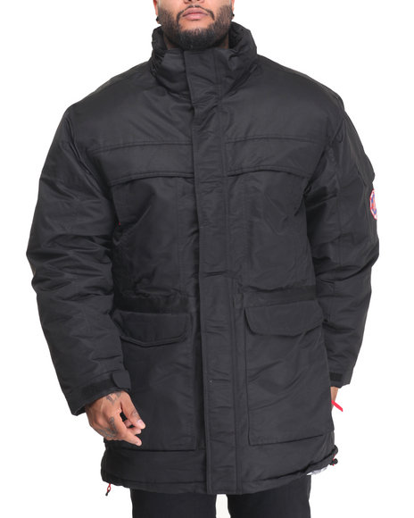 Buyers Picks - Men Black K 2 Down Heavy Parka Jacket
