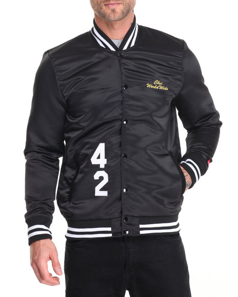 Clsc - Men Black World Series Jacket