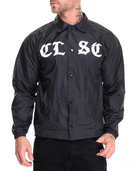 Clsc - Men Black Always Ready Coach Jacket