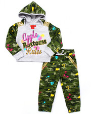 Sets - 2 PC CAMO JOGGER SET (2T-4T)
