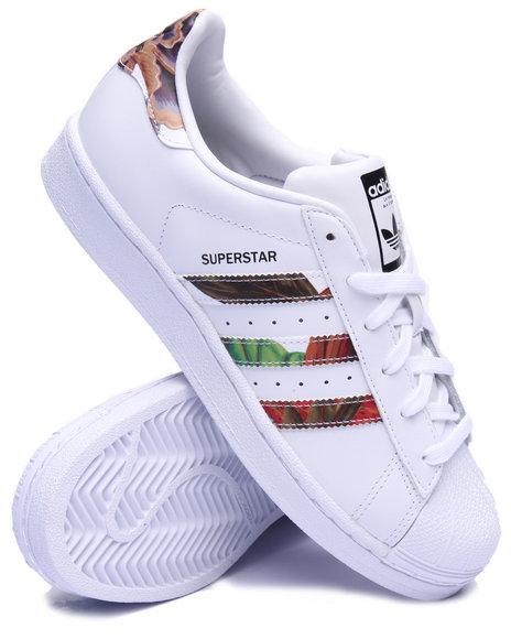 Adidas - Women White Superstar W Farm Sneakers