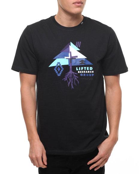 Lrg Men Brightest Heard T-Shirt Black Large