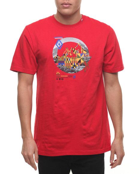 Lrg Men Unspoken T-Shirt Red X-Large