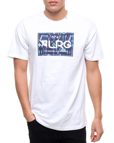 Lrg Men Artillery S/S T-Shirt White Medium
