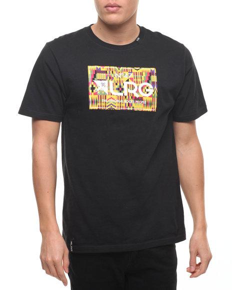 Lrg Men Artillery S/S T-Shirt Black Small