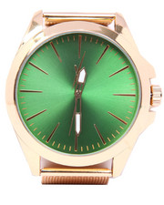 Men - Dial Alloy Band Watch