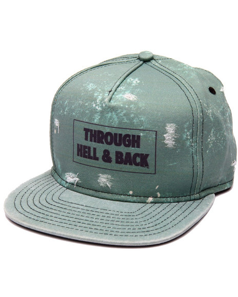 Civil Men Through Hell & Back Snapback Olive