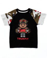 Deals-Boys - CAMO LIL' TOMMY SKATE TEE (4-7)