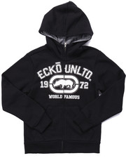 Hoodies - ECKO UNLTD FULL ZIP HOODY (8-20)