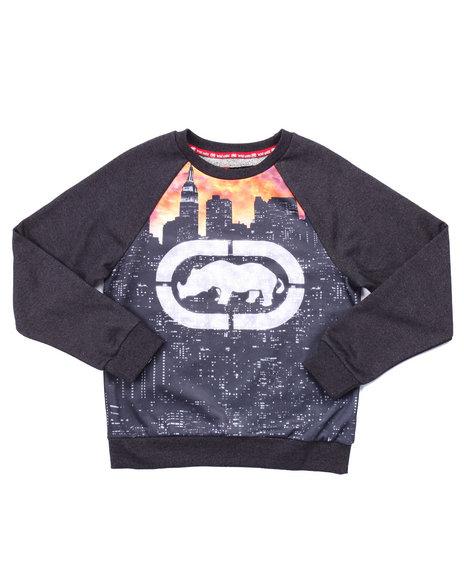 Ecko - Boys Grey Rhino City Sublimation Sweatshirt (8-20)