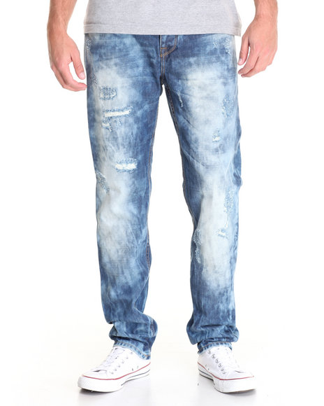 Buyers Picks - Men Medium Wash Radius Structured Denim Jeans