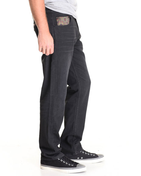 Lrg - Men Black Unity Denim Jean