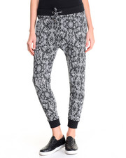 Bottoms - Snake Print Jogger