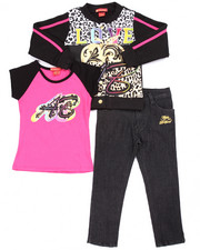 Sizes 4-6x - Kids - 3 PC SCUBA JACKET, TEE, & JEANS SET (4-6X)