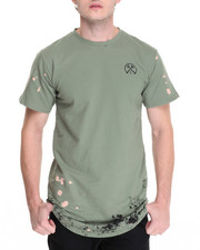 Men - HELL & BACK LT FRENCH TERRY THRASHED DROP TEE