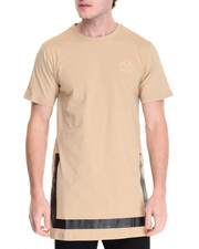 Men - BORDERS LONG SIDE SPLIT TEE