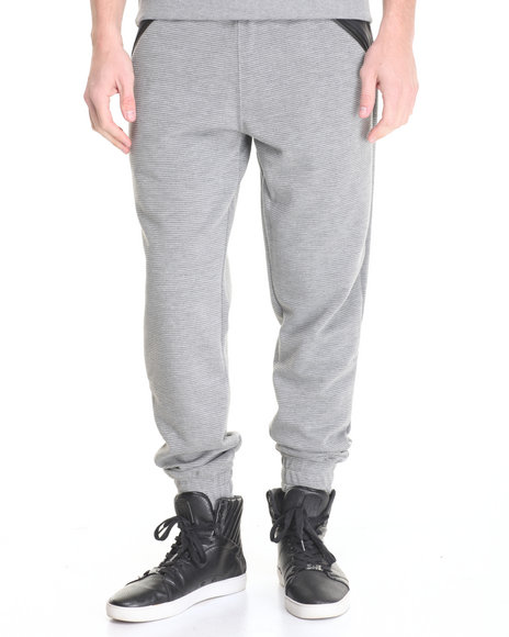 Parish - Men Grey Ottoman Sweatpant