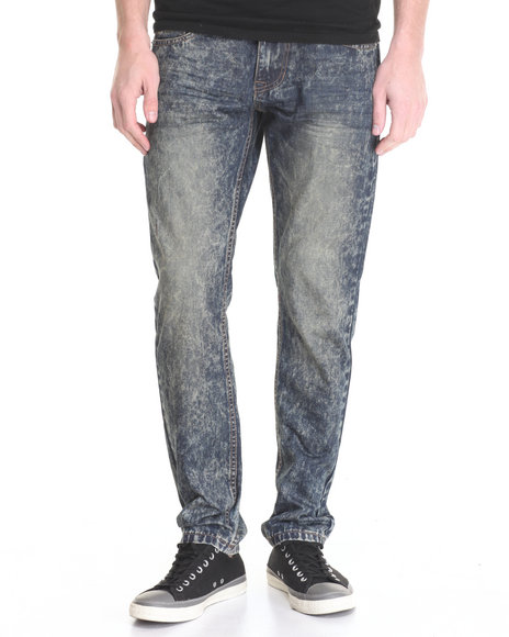 Buyers Picks - Men Medium Wash Washed Out Denim Jeans