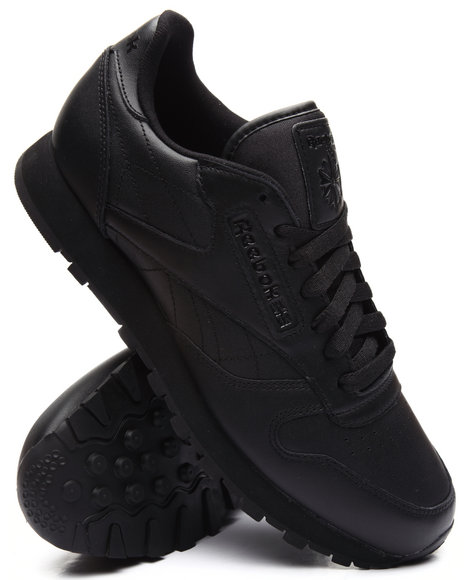 Reebok - Men Black Classic Leather Triple Black