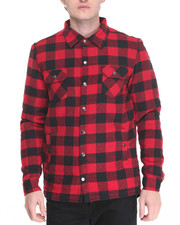 Button-downs - Buffalo Plaid Fishtail Button - Down