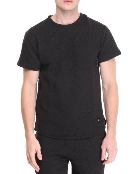 Vsop - Men Black Thor Quilted S/S Tee