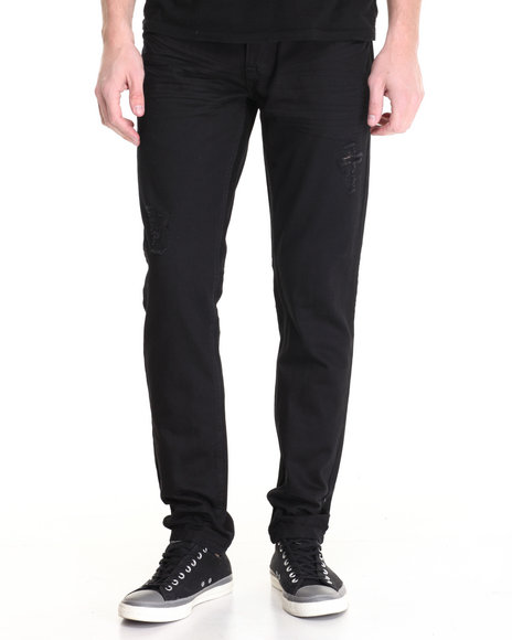 Buyers Picks - Men Black Washed Out Denim Jeans