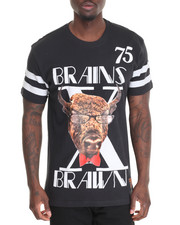 Men - S U Brains X Brawn S/S Tee