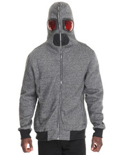 Men - American Stitch - THE FLY - HEATHER HOODIE