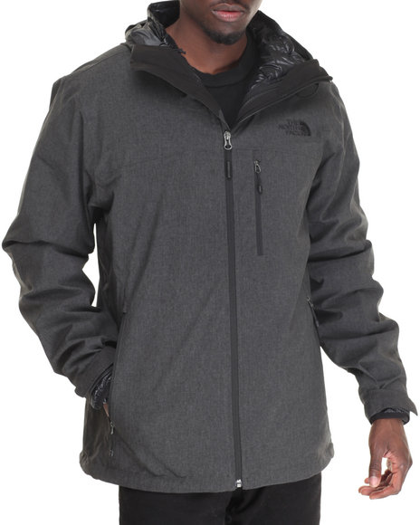 The North Face - Men Black Thermoball 3-In-1 Triclimate Jacket
