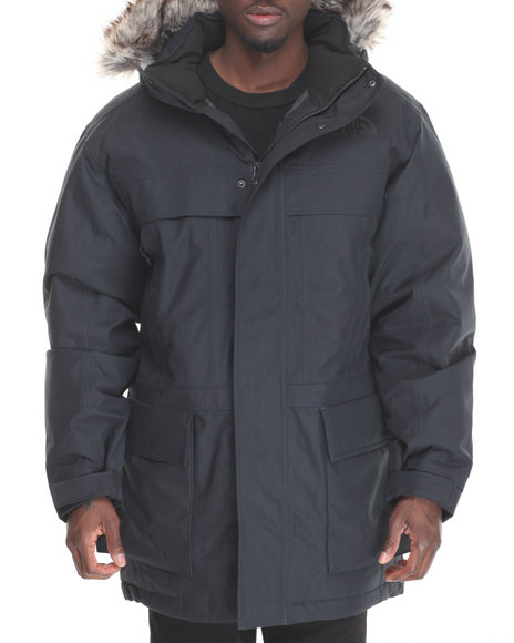 The North Face - Men Navy Mcmurdo Parka