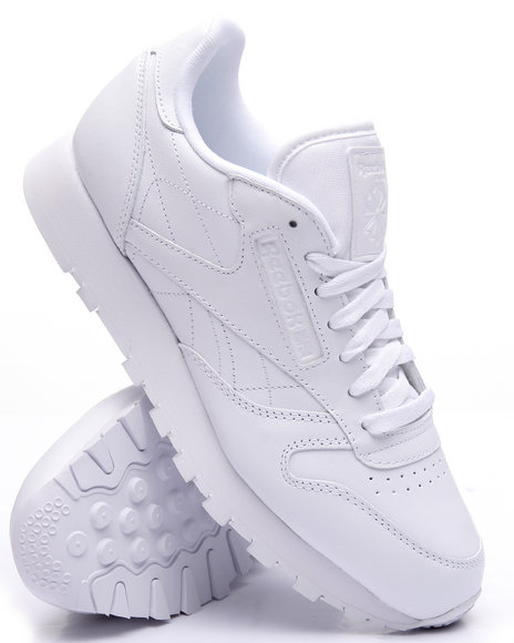 Reebok - Men White Classic Leather Triple White