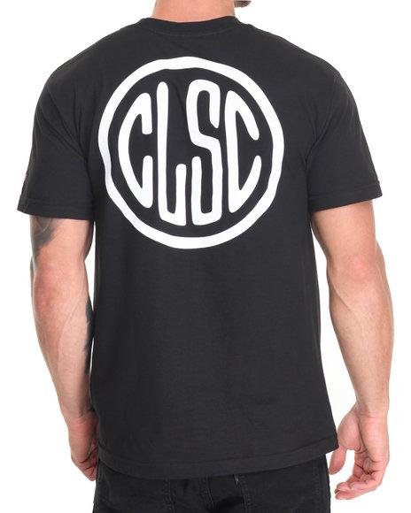 Clsc - Men Black Stamp Tee - $26.99