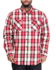 LRG - Unity L/S Button-Down (B&T)