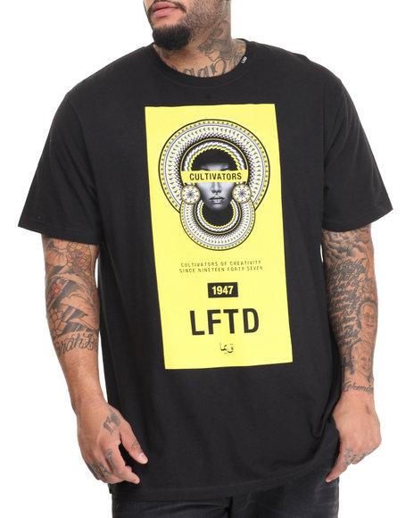 Lrg - Men Black Bammer Banner T-Shirt (B&T)