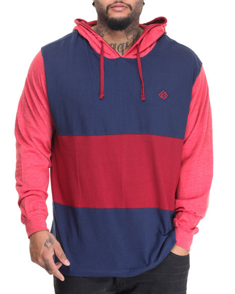 Enyce - Men Red Mr Krab L/S T-Shirt Hoodie (B&T)