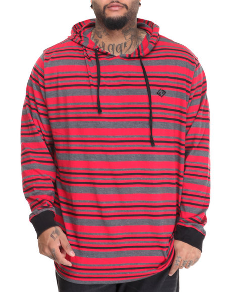 Enyce - Men Grey,Red Squidward L/S Hoodie