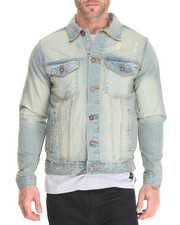 Denim Jackets - Western - Style Denim Jacket