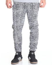 Basic Essentials - Elephant - Print Fleece Joggers