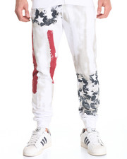 Basic Essentials - Americana Fleece Joggers