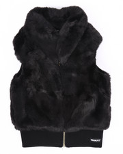Girls - FAUX FUR VEST (7-16)