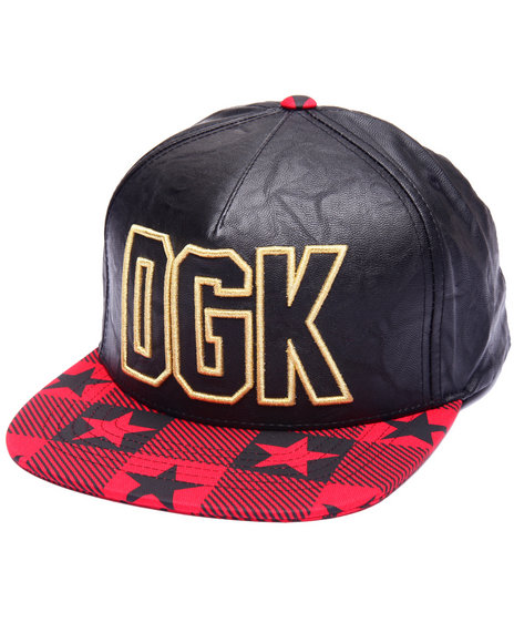 Dgk Men Cutter Snapback Cap Black - $35.99