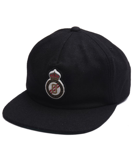 Dgk Men Division Strapback Cap Black