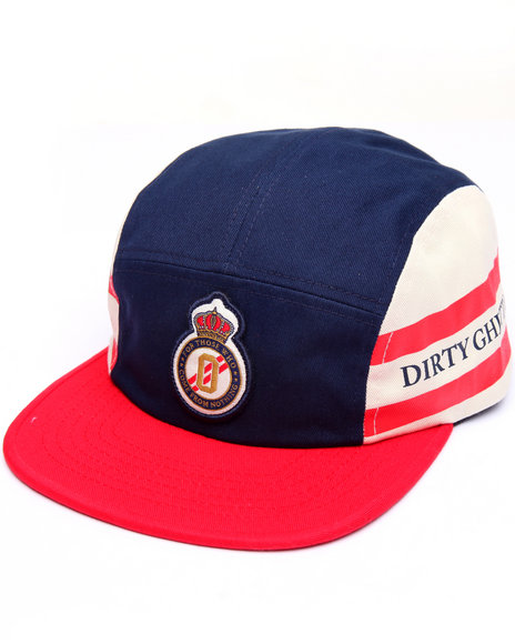Dgk Men Division 5 Panel Cap Navy - $28.99